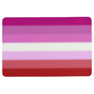 Falln Lesbian Pride Flag Floor Mat
