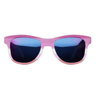 Falln Lesbian Pride Flag Sunglasses