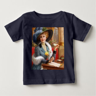 Falln Letters And Tea Baby T-Shirt
