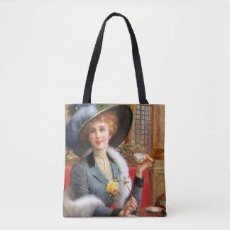 Falln Letters And Tea Tote Bag