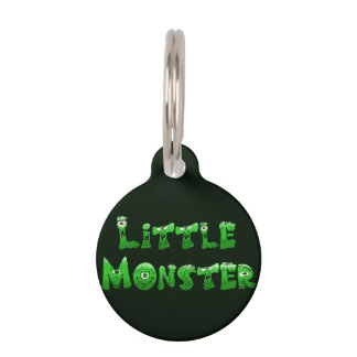 Falln Little Monster Pet Name Tag