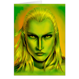 Falln Male Forest Elf Card