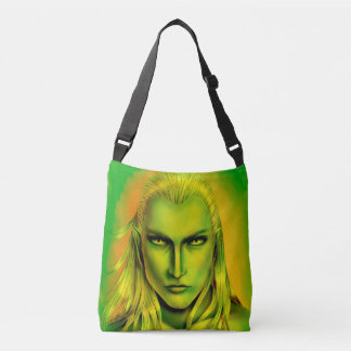 Falln Male Forest Elf Crossbody Bag