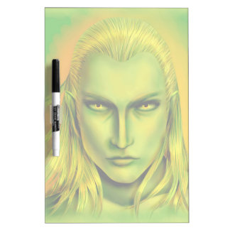 Falln Male Forest Elf Dry Erase Whiteboards
