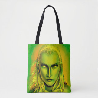 Falln Male Forest Elf Tote Bag