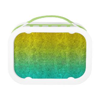 Falln Ocean Sunrise Glitter Gradient Lunch Boxes