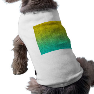 Falln Ocean Sunrise Glitter Gradient Pet Tshirt