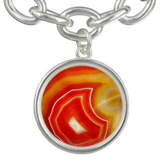 Falln Orange Agate Bracelets