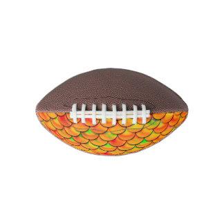 Falln Orange and Green Scales Football