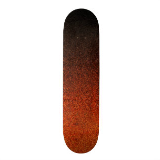 Falln Orange & Black Glitter Gradient Skate Boards