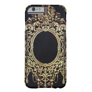 Falln Ornate Gold Frame (Perfect for a Monogram!) Barely There iPhone 6 Case