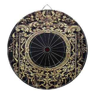 Falln Ornate Gold Frame (Perfect for a Monogram!) Dartboards
