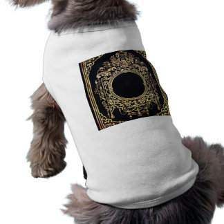Falln Ornate Gold Frame (Perfect for a Monogram!) Dog Clothes