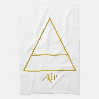 Falln Pagan Air Element Symbol Kitchen Towel