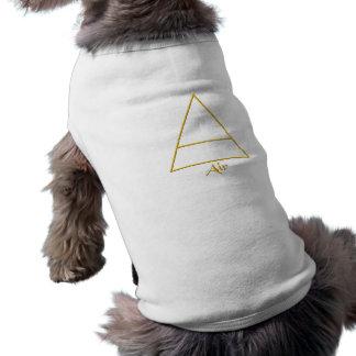 Falln Pagan Air Element Symbol Pet Tee Shirt