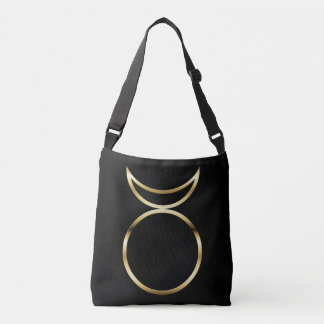 Falln Pagan Horned God Symbol Crossbody Bag