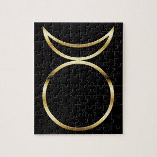 Falln Pagan Horned God Symbol Puzzles