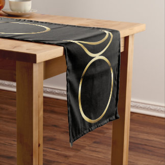 Falln Pagan Horned God Symbol Short Table Runner