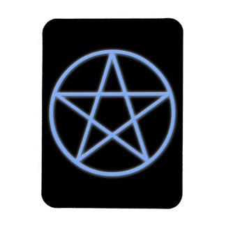 Falln Pagan Pentacle Rectangular Photo Magnet