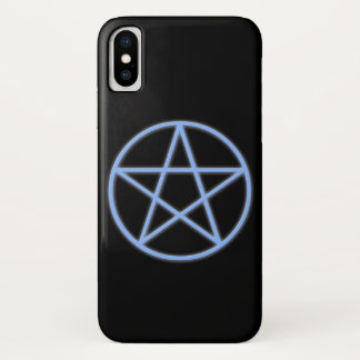 Falln Pagan Pentacle Symbol iPhone X Case