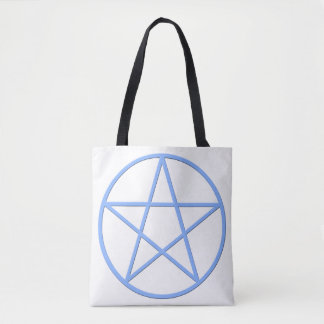 Falln Pagan Pentacle Tote Bag