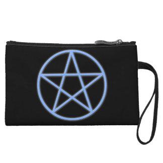 Falln Pagan Pentacle Wristlet Clutches