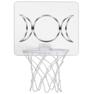 Falln Pagan Triple Goddess Symbol Mini Basketball Backboard