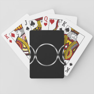 Falln Pagan Triple Goddess Symbol Playing Cards