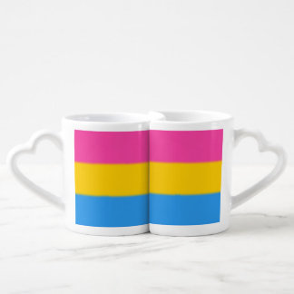 Falln Pansexual Pride Flag Coffee Mug Set