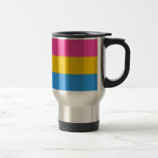 Falln Pansexual Pride Flag Travel Mug