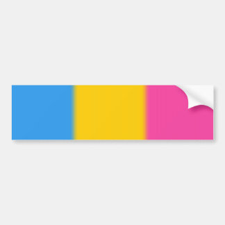 Falln Pansexual Pride Flag Version 2 Bumper Sticker