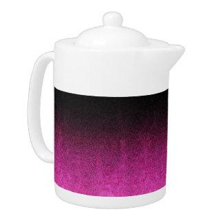Falln Pink & Black Glitter Gradient