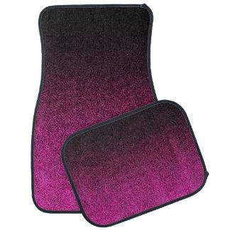 Falln Pink & Black Glitter Gradient Auto Mat