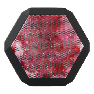 Falln Pink Faerie Crystals Black Bluetooth Speaker