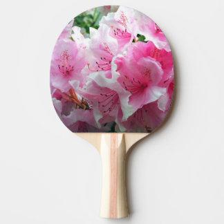 Falln Pink Floral Blossoms Ping Pong Paddle