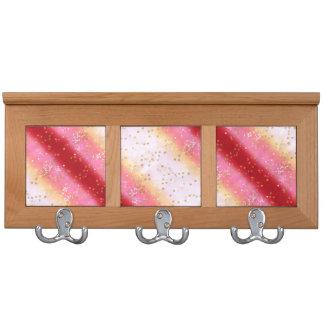 Falln Pink Sakura Sunrise Coat Racks