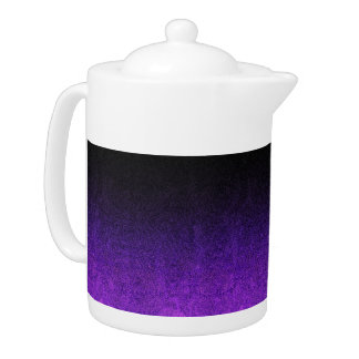 Falln Purple & Black Glitter Gradient