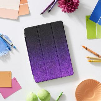 Falln Purple & Black Glitter Gradient iPad Air Cover