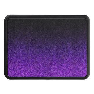 Falln Purple & Black Glitter Gradient Trailer Hitch Cover