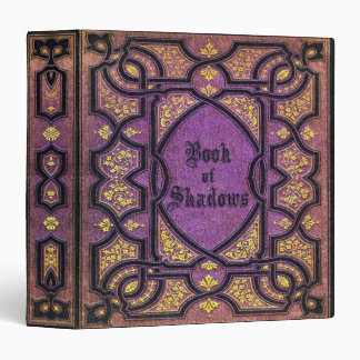 Falln Purple Vines Book of Shadows 3 Ring Binder