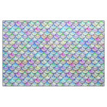 Falln Rainbow Bubble Mermaid Scales Fabric