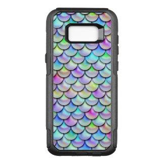 Falln Rainbow Bubble Mermaid Scales OtterBox Commuter Samsung Galaxy S8+ Case