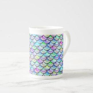 Falln Rainbow Bubble Mermaid Scales Tea Cup
