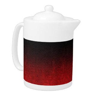 Falln Red & Black Glitter Gradient