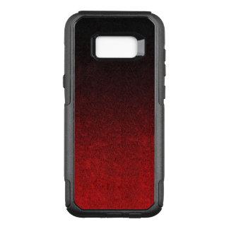 Falln Red & Black Glitter Gradient OtterBox Commuter Samsung Galaxy S8+ Case