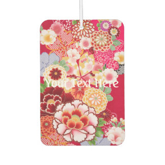 Falln Red Floral Burst Air Freshener