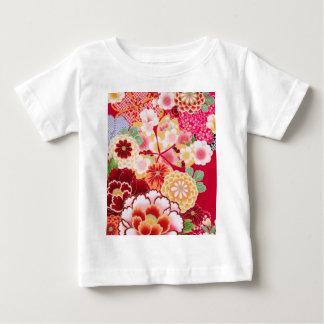 Falln Red Floral Burst Baby T-Shirt