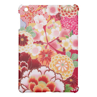 Falln Red Floral Burst Case For The iPad Mini