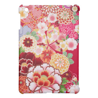 Falln Red Floral Burst Cover For The iPad Mini