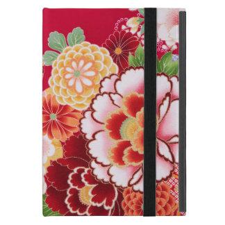 Falln Red Floral Burst iPad Mini Cover